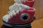Scarpette converse in cotone per neonato 0-3 mesi