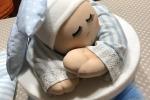Scatola porta confetti per nascita maschietto