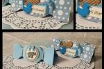 Scatolina portaconfetti a forma di caramella