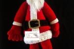 Schema Babbo Natale, altezza 70 cm, formato libro in pdf