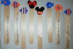 Segnalibri personalizzabili, con decorazione in gomma eva