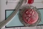 Segnalibro cammeo rosso
