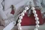 Segnalibro di perle in resina
