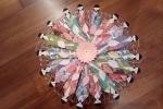 Segnalibro geisha giapponese con la tecnica dell'origami