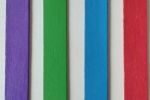Segnalibro in legno dipinto con colori acrilici