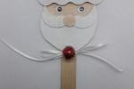 Segnaposto natalizio personalizzato faccina di Babbo Natale