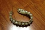 Girocollo con orecchini,bracciale e anello oro
