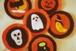 Set da tavola Halloween composto da 6 sottobicchieri