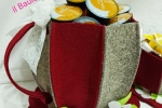 Set Tazze porta cialde e zucchero in feltro