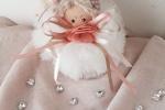Sissi bambolina realizzata in tulle alta circa cm.13
