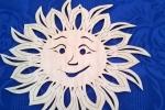 Sole traforato in legno