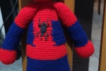 Spiderman amigurumi