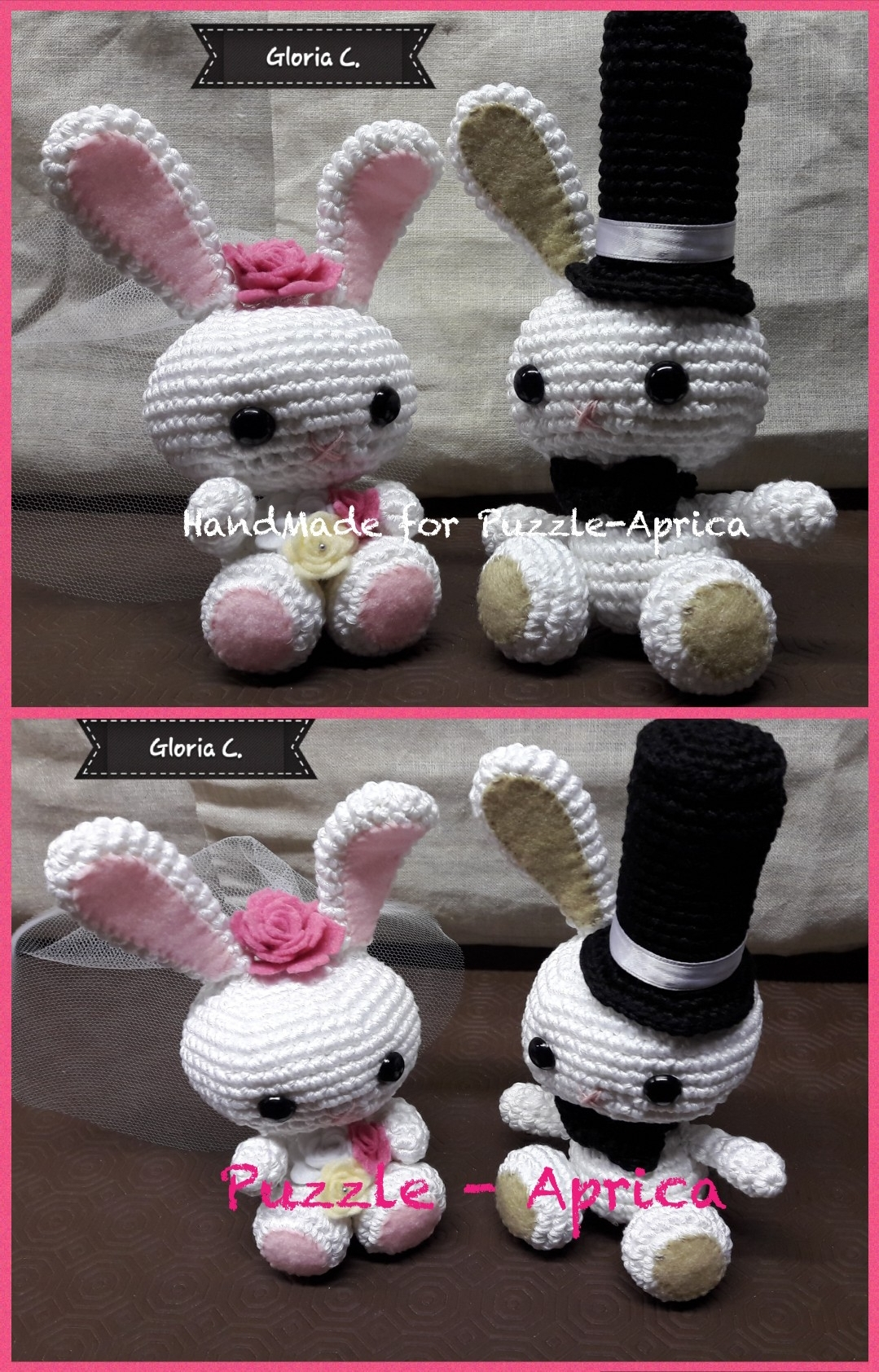 Jake & fiona wedding dolls pattern | IdealPin | 1684x1079