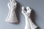 Sposi Stilizzati - Gessetti profumati