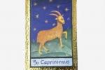 Stampa artistica. Segni zodiacali su cartoncino da gr. 250