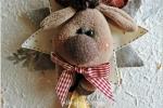 Stellina Rudolph lunghezza di 30 cm per 20 di larghezza
