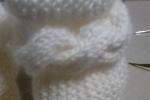 Stivaletti neonato in lana