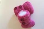 Stivaletto bebè, 0-3 mesi in lana