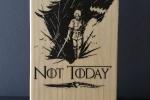 Supporto per cellulare e tablet in legno di abete -Game of Thrones