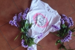T-shirt donna con stampe per un'estate con il sorriso