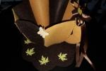 Tazzone porta cialde decorate con fiocchi fiori