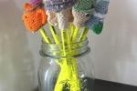 Top pencil di diverse forme amigurumi