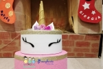 Torta finta Unicorno