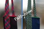 Tracolla da viaggio e le sue cravatte vintage