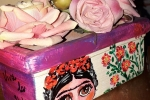 Vasetto terracotta linea Frida Kahlo