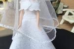 Vestito da sposa per Barbie