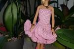 Vestitini per Barbie fatti a mano 4 colori