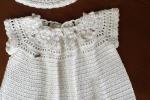 Vestitino bimba realizzato a uncinetto