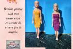 Vestito Barbie tubino