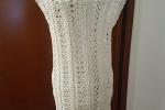 Vestito estivo cotone elasticizzato bianco