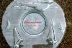 Vetreria artistica-piatto in vetro