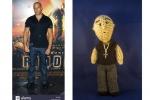 Vin Diesel personalizzato, in amigurumi