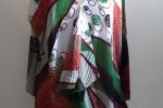 Vionnet: Casacca in sari indiana