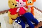 Winnie the Pooh e i suoi amici all'uncinetto