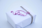Wire art: Love