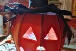 Zucchetta Halloween spaventosa